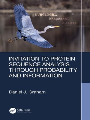 cover image of Invitation to Protein Sequence Analysis Through Probability and Information
